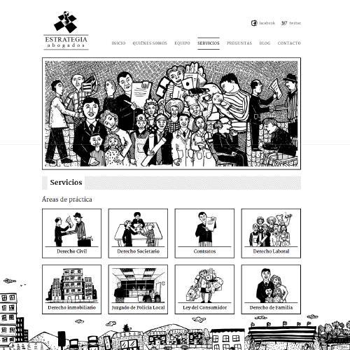 PROYECTO DE COMUNICACIÓN WEB ESTRATEGIA ABOGADOS