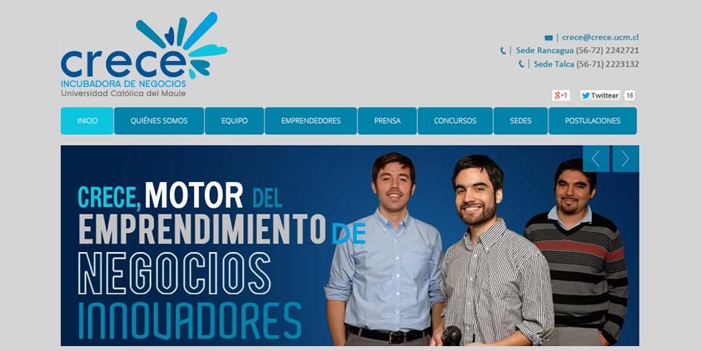 PROYECTO DE COMUNICACIÓN WEB CRECE UCM