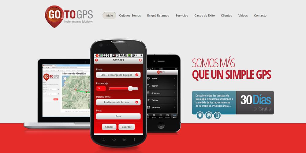 PROYECTO DE COMUNICACIÓN WEB GOTO GPS